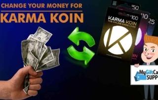 استفاده از گیفت کارت کارما کوین Karma koin