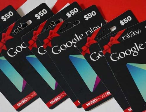 خرید گیفت کارت گوگل پلی انگلیس