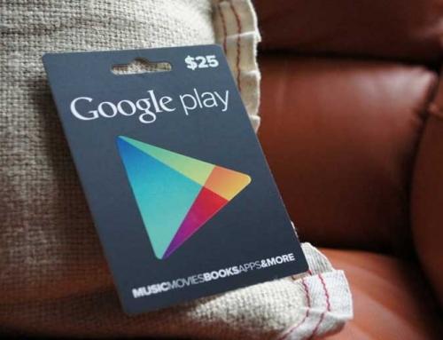 خرید گیفت کارت گوگل پلی استرالیا