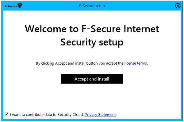 نحوه نصب آنتی ویروس اف سکیور F-Secure - 3