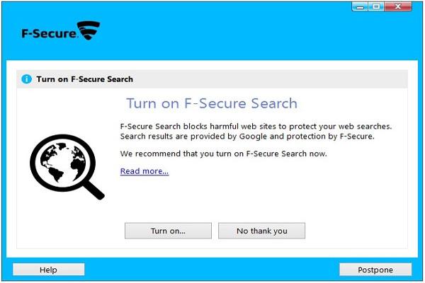 نحوه نصب آنتی ویروس اف سکیور F-Secure -6