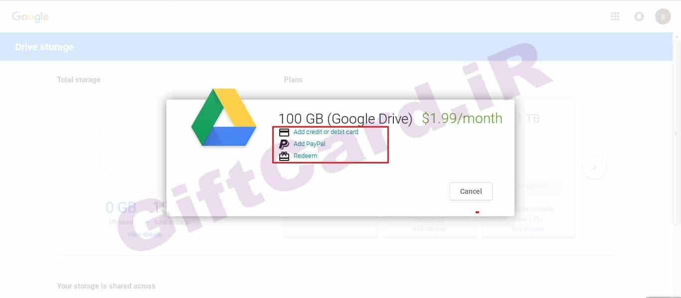 آموزش کار با گوگل درایو و نحوه ی افزایش حجم گوگل درایو-5
