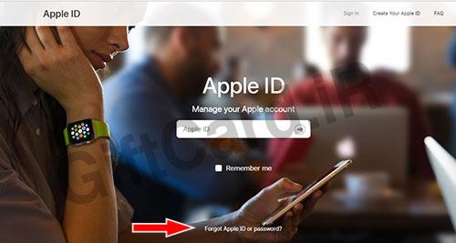 فراموش کردن رمز اپل ایدي ۱