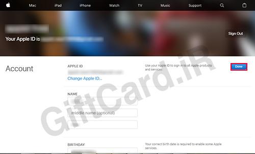 آموزش تغییر ایمیل اپل آیدی 8