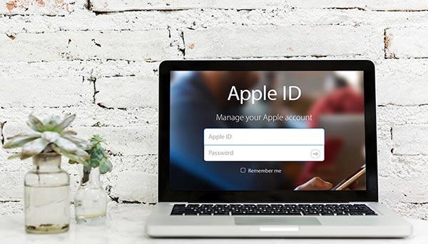 تغییر رمز پسورد اپل آیدی