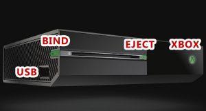 ارور E203 ایکس باکس وان 1