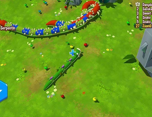 معرفی بازی موبایل Snake Rivals – PVP Games