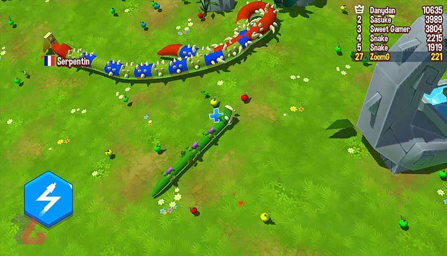 معرفی بازی موبایل Snake Rivals - PVP Games