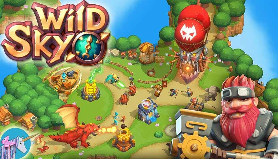 معرفی بازی موبایل Wild Sky TD