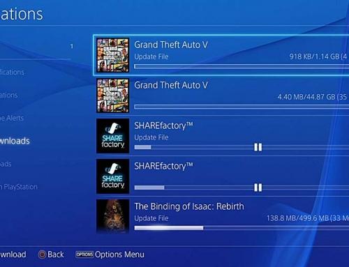 خاموش کردن آپدیت خودکار بازی ها در PS4
