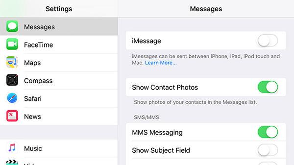 انتقال پیام ها و ایمیل ها به اندروید 2
