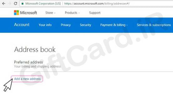 آموزش استفاده از گیفت کارت مایکروسافت 4