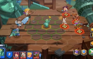 نبردهای بازی موبایل Tactical Monsters Rumble Arena | معرفی بازی Tactical Monsters Rumble Arena | ویژگی های بازی Tactical Monsters Rumble Arena