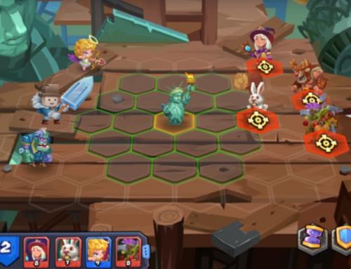 نبردهای تاکتیکی در بازی موبایل Tactical Monsters Rumble Arena